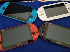 Sony PS Vita OLED 1000 Slim 2000 FW 3.60 3.65 Red Blue Black White PSV 1001 2001