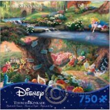 750 Piece Puzzle: Thomas Kinkade - Disney Dreams - Alice in Wonderland