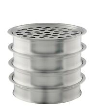 Communion Ware Holy 4 Wine Serving Trays - Stainless Steel