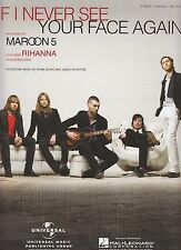 Si je n'ai jamais voir votre visage de nouveau-maroon 5 & rihanna - 2010-sheet music