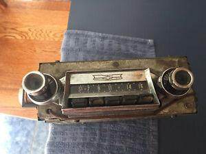 1957 CHEVY AM RADIO 150 210 NOMAD WAGON