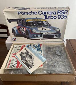 """Entex Porsche 935 RSR 1/8 Scale Plastic Model Kit """"As Is"""" Sale, Read Description"""
