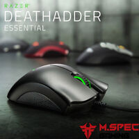 Razer DeathAdder Essential Ergonomic Right Handed Wired Gaming Mouse 6400 DPI