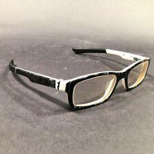 Oakley Bucket Black White Plaid Rectangular Eyeglass Frames OX1060-0651 140