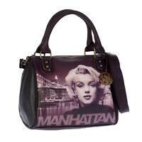 Sac Femme Disney Sac bowling ceinture d'épaule Audrey Marilyn Monroe Brooklyn