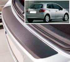 Toyota Auris Hatchback MK1 - Carbon Style rear Bumper Protector