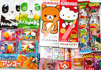 Japanese Dagashi Cute Set Chocolate Candy Cookie Kitty & Pooh Marshmallow