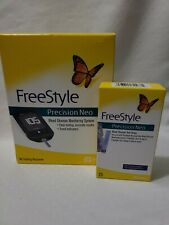 FreeStyle Precision Neo Blood Glucose Monitoring w/25 Test Strips