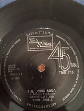 Marvin Gaye/Tammi Terrell - The Onion Song/ I Can't Believe You Love Me - 1969