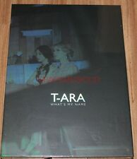 T-ARA What's my name? EP NORMAL Ver. K-POP CD + PHOTOCARD + FOLDED POSTER