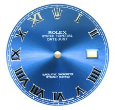 Factory Original Rolex Blue Roman Dial for Datejust II 41MM 126300 126334 Watch