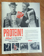 1958 Kellogg's Special K Cereal Ad   Protein!