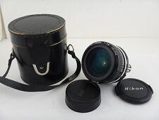 Nikkor 28mm f2.8 AI Nikon + BAG CASE Ottime Condizioni Excellent Condition