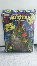 Vintage Boxed Monsters In My Pocket Super Scary Set 12 Figures -glow in the dark