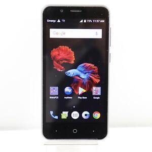 "ZTE Avid 4 Z855 (MetroPCS) 4G LTE 5.0"" 16GB GSM - Blue"
