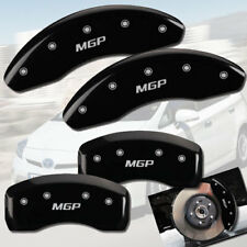 "2012-2018 Toyota Yaris SE Front + Rear Black ""MGP"" Brake Disc Caliper Covers 4pc"