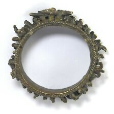 Ancient Antique Hindu Religious Brass Bracelet Kada Rare Collectible G18-42 US