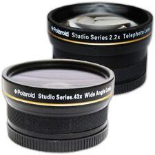 Wide Angle Macro 2 Lens Telephoto Zoom Set Kit Nikon D3500 D5600 D3400 Travel 55