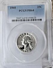 1960  SILVER QUARTER PCGS PR64DCAM COLLECTIBLE US COINS GIFTS 36