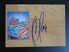 Candice Dupree signed Mercury basketball floor tile Wnba Nice Free Shipping