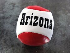 ARIZONA Souvenir HACKY SACK Footbag   RED