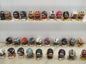 NFL TEENYMATES GOLD 31 PIECE COLLECTOR SET LOOSE WITHOUT BOX