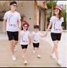 T Shirt Family gift Couple Matching Set Men's Tee Women's Love His and Her - Kid