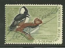 RW35 1968 Federal Duck Stamp Used No Faults-EBAY Low Example OFFER?