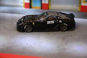Ferrari 599XX 599 noir #55 1/43 hotwheels elite 6264