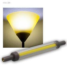 R7s Leuchtstab Leuchtmittel SLIM 118mm neutralw 850lm 360° 10W Halogenstab Birne
