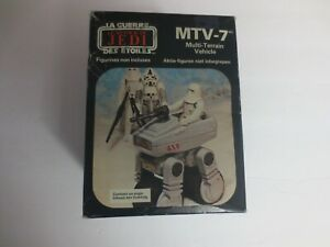 Star Wars Return of the Jedi MTV-7 Multi-Terrain Vehicle in box with driver 1983