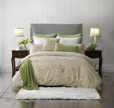 Bianca Elegance Estelle Taupe Doona|Duvet|Quilt Cover Set in All Sizes
