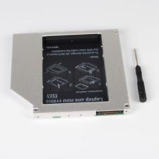 Universal 9.5mm CD DVD-ROM Optisch Bay IDE PATA ZU SATA 2nd HDD SSD Caddy Tray