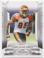 #21-CHAD OCHO CINCO-CINCINNATI BENGALS-2009 PANINI PRESTIGE PLAY OFF NFL CARD