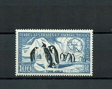FSAT #C2 (FS207) Penguins & Map of Antarctica, M, VLH, FVF