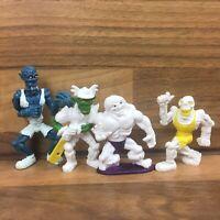 4 x Monster In My Pocket Sports Stars Figures Bundle Vintage Kelloggs Toys
