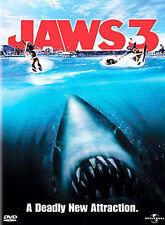 Jaws 3 Dvd Joe Alves(Dir) 1983