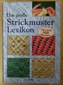 DAS GROSSE STRICKMUSTER LEXIKON Handarbeiten Stricken Muster Illustration