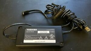 Toshiba AD-25U 12v 4.5A power supply cord - TESTED - For LCD TV, monitor, DIY
