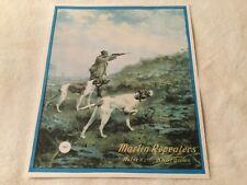 Marlin Guns  poster sign