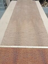 "Makore Pommele Quilted African wood veneer 32"" x 106"" with paper backer 1/40th"""