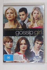 Gossip Girl : Season 1 (DVD,5-Disc) Region 4 - New Sealed - Sent Tracking (D877)
