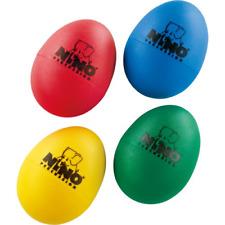 Nino Percussion Ninoset540 Four Piece Plastic Egg Shaker Set with Assorted Co.