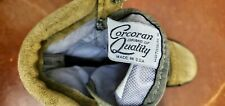 CORCORAN USAF Hot Weather Leather Boots 87257 MARAUDER Military Combat Men Size