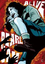 Pearl Jam Eddie Vedder Grunge Poster A1 59,4 x 84 cm Kunstdruck RockPaint