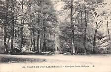 France Foret de Fontainebleau Carrifour Louis Philippe Forest