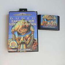 Dune II Kampf um den Wüstenplaneten Sega Mega Drive Spiel