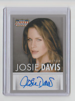 2015 Panini Americana Autograph Trading Card Actor Josie Davis