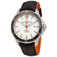Baume et Mercier Clifton Automatic White Dial Mens Watch MOA10337