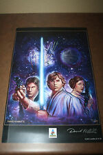 Star Wars Celebration IV AP #78/250 Art Print SIGNED DAVID RABBITTE